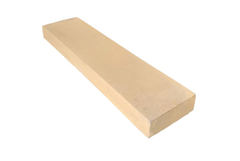 150mm x 600mm flat concrete coping stones for walls