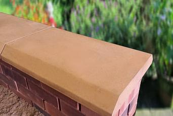 15 inch Chamfered Flat Coping Stone