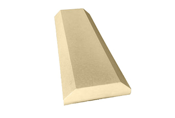 8 inch Chamfered Flat Copings Sandstone