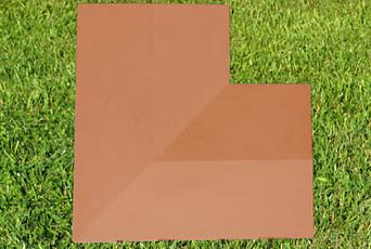 Terracotta 11 inch corner copings