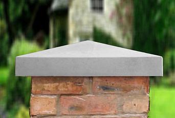 Grey 21 inch Traditional Pier Cap