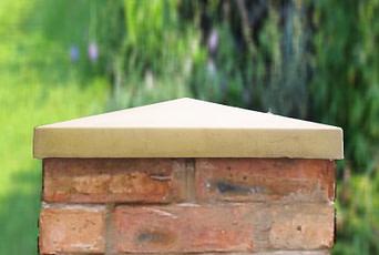 Sandstone 18 inch pillar cap