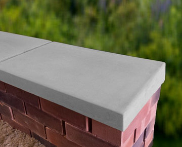 grey 15 inch copings