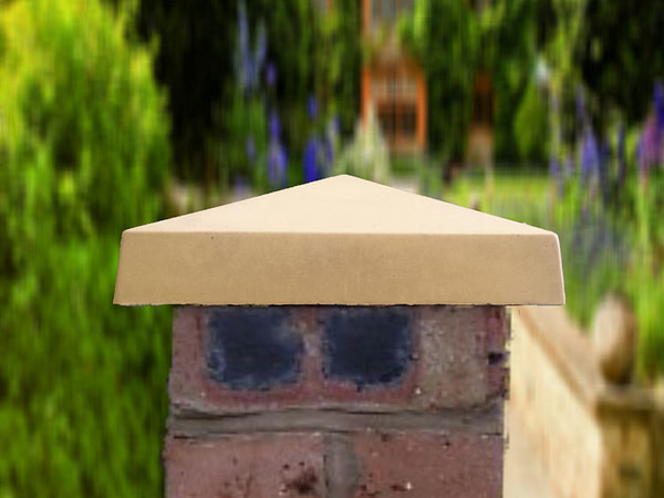 sandstone 10 inch traditional pier caps