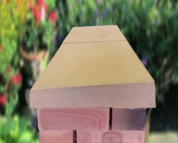 once weathered coping stones