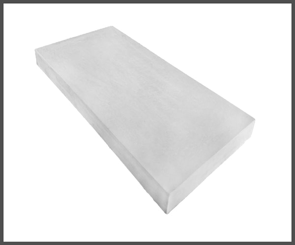 11 inch Flat Coping Stones in Grey