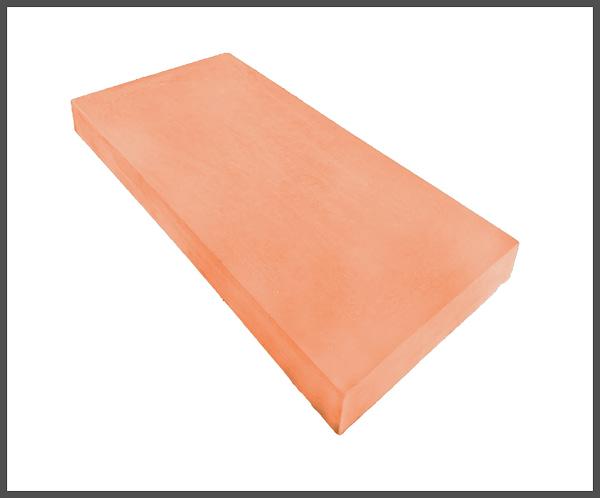 11 inch Flat Coping Terracotta