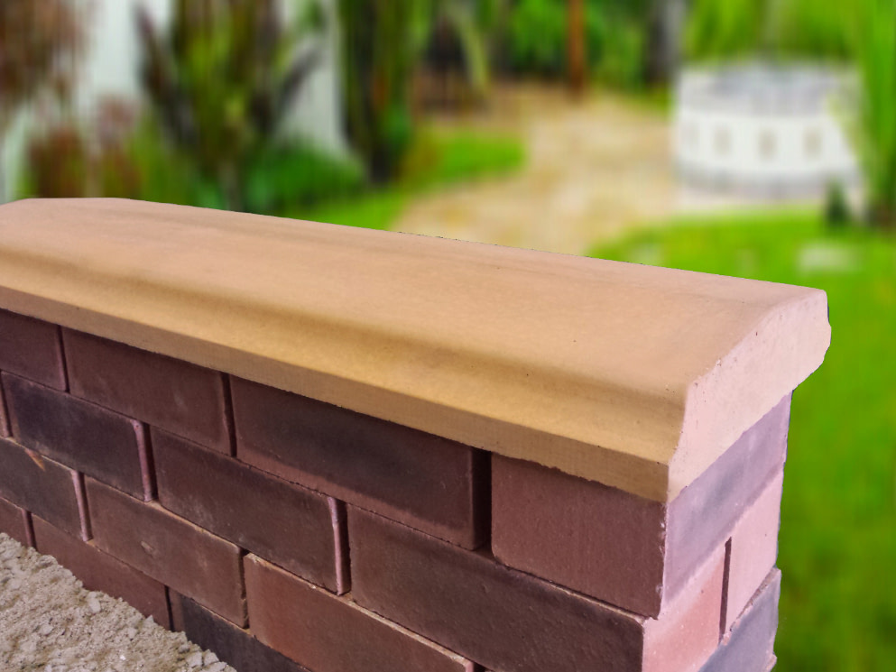 Twice Weathered Bevelled Coping
